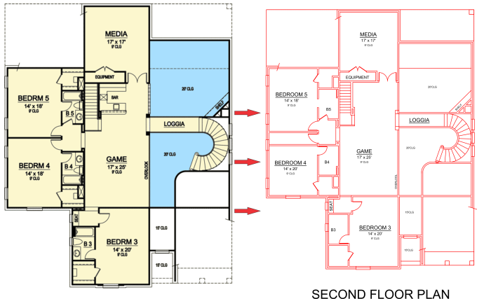 create floor plans in auto cad from sketches image or pdf by
