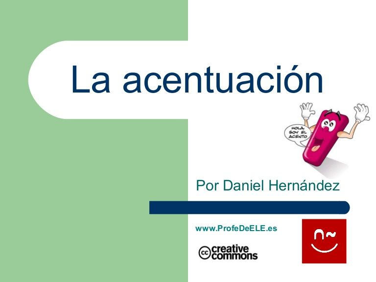 Taller Acentuación Profedeele Es Ap Spanish Language Teaching Writing Teaching