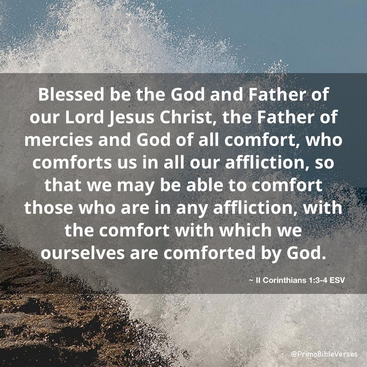 Blessed Be God Even The Father Of Our Lord Jesus Christ The