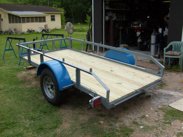 Show Me Your Homemade Trailers The Garage Journal Board