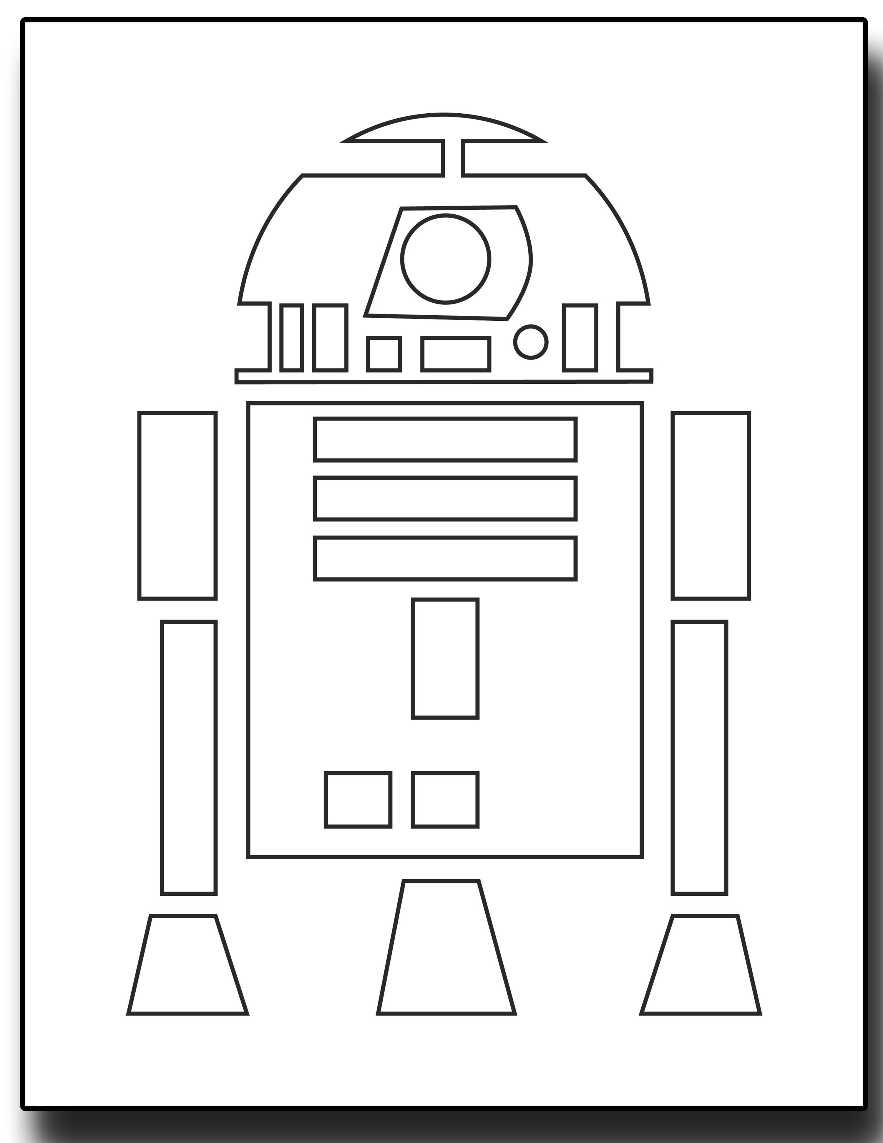 May the 4th Be With You – Star Wars Inspired Coloring Pages | card ...