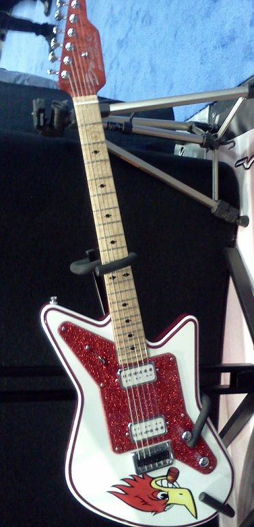 From the Baudier guitar booth at NAMM 2013.