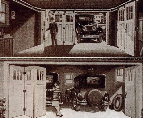 vintage garage doorsHistory of the Garage Door  Garage Door Opener  ProDoorPartscom