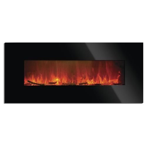 50 Freemont Flat Panel Electric Fireplace Heater At Menards 50