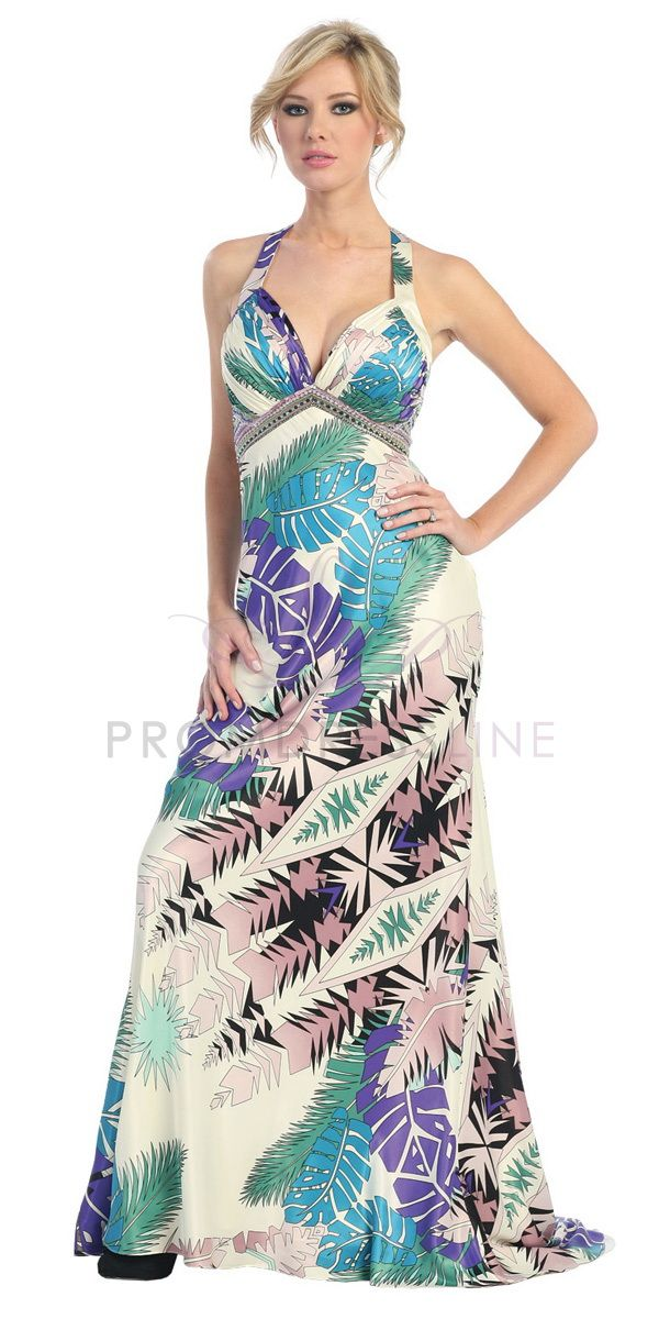 If the print of the fabric of your prom dress looks like that of a ...