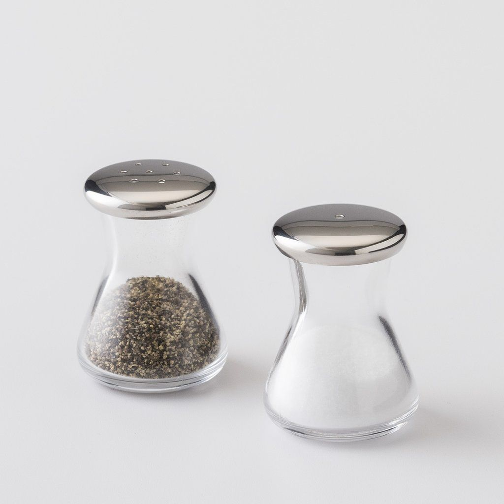 Glass Salt Pepper Shakers Schoolhouse Electric Pepper Shaker