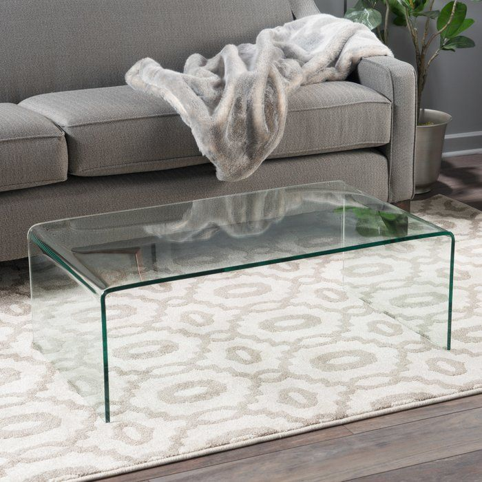 Arviso Sled Coffee Table Coffee Table Living Room Side Table