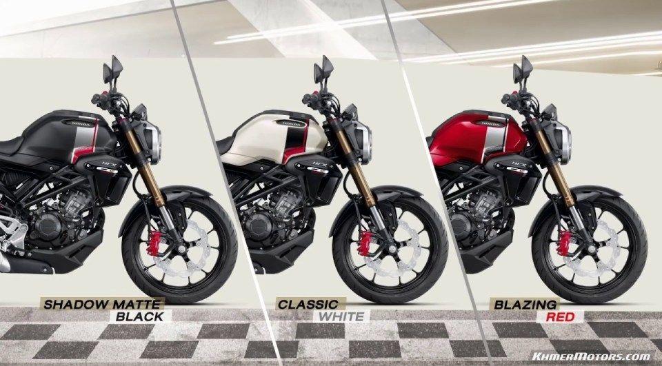 Video ថ ម Honda Cb150r 2019 ន ង Honda Msx 125sf 2019