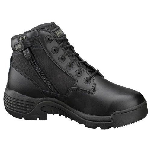 Magnum 5120 Women's Interceptor 5.0 Side-Zip Wos - Lace-Up Black Leather Boots Magnum. $44.99