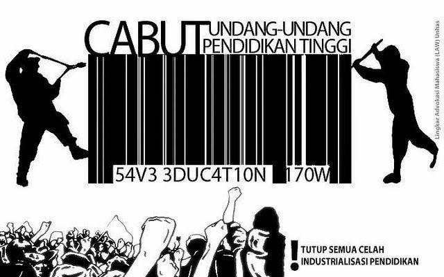 salah satu contoh poster pendidikan yang berisikan ...