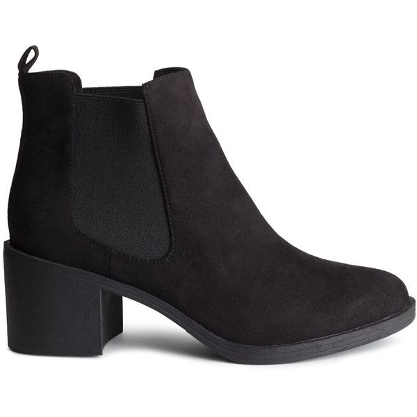 6d7c93baffe H M Ankle boots (260 HRK) ❤ liked on Polyvore featuring shoes ...