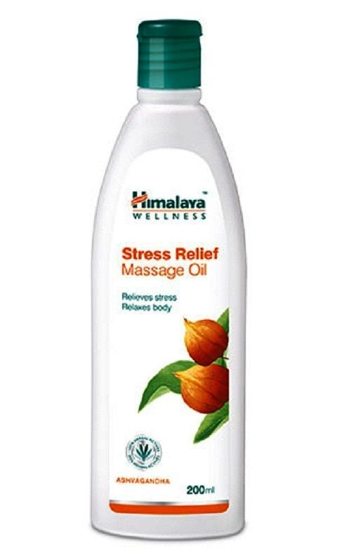 14 68 Aud Lot Himalaya Herbal Stress Relief Massage Oil Anti