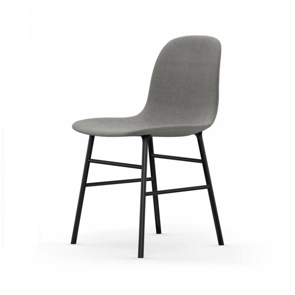 Normann Form Black Stuhl Textil-gepolstert remix Jetzt bestellen ...