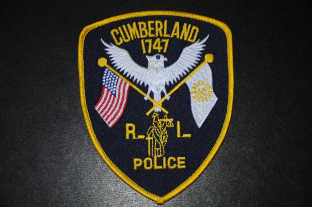 Cumberland Police Patch, Providence County, Rhode Island