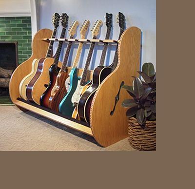 Guitar Display Racks – 'The Session™ Deluxe'   GuitarStorage.com