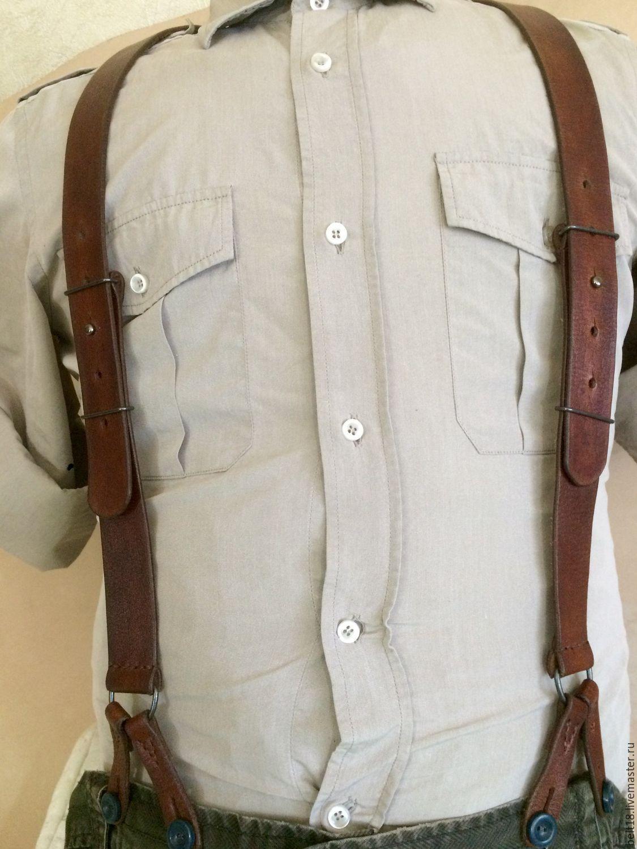 8fd541c45e16 Купить Подтяжки - кожаные подтяжки, подтяжки, ремни ручной работы, Ремни,  мужские, классический стиль