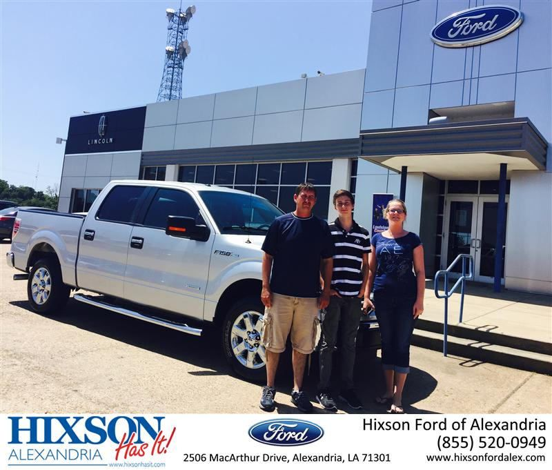 Congratulations to lea campbell on your ford f150 from