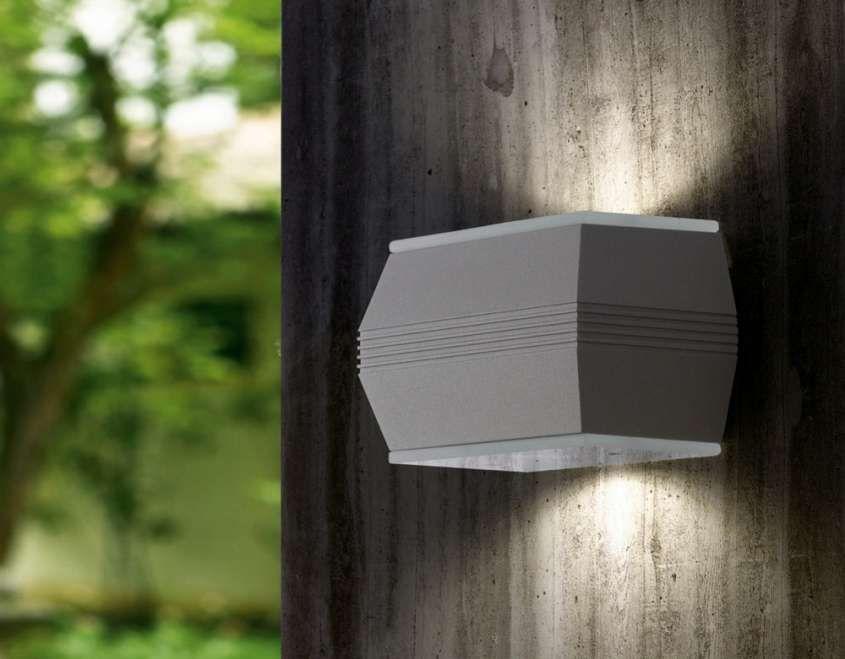 Applique Esterno Moderno : Illuminazione per il giardino e per il terrazzo applique a led