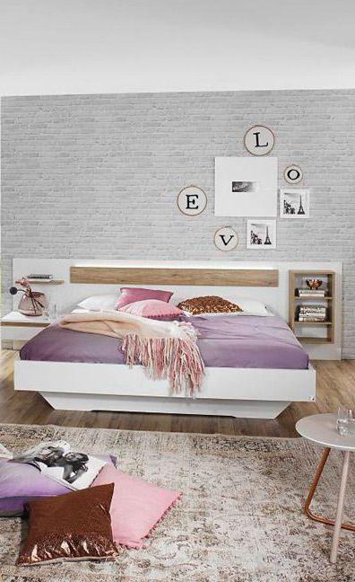 Weißes Schlafzimmer Mara | Die Hellen Schlafzimmermöbel Sorgen Für Einen  Modernen Und Beruhigenden Look In Deiner Schlafoase. #white #bed #MoebelLETZ