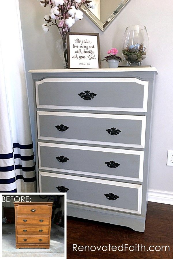 Before and After DIY Furniture Makeovers - My Best ...