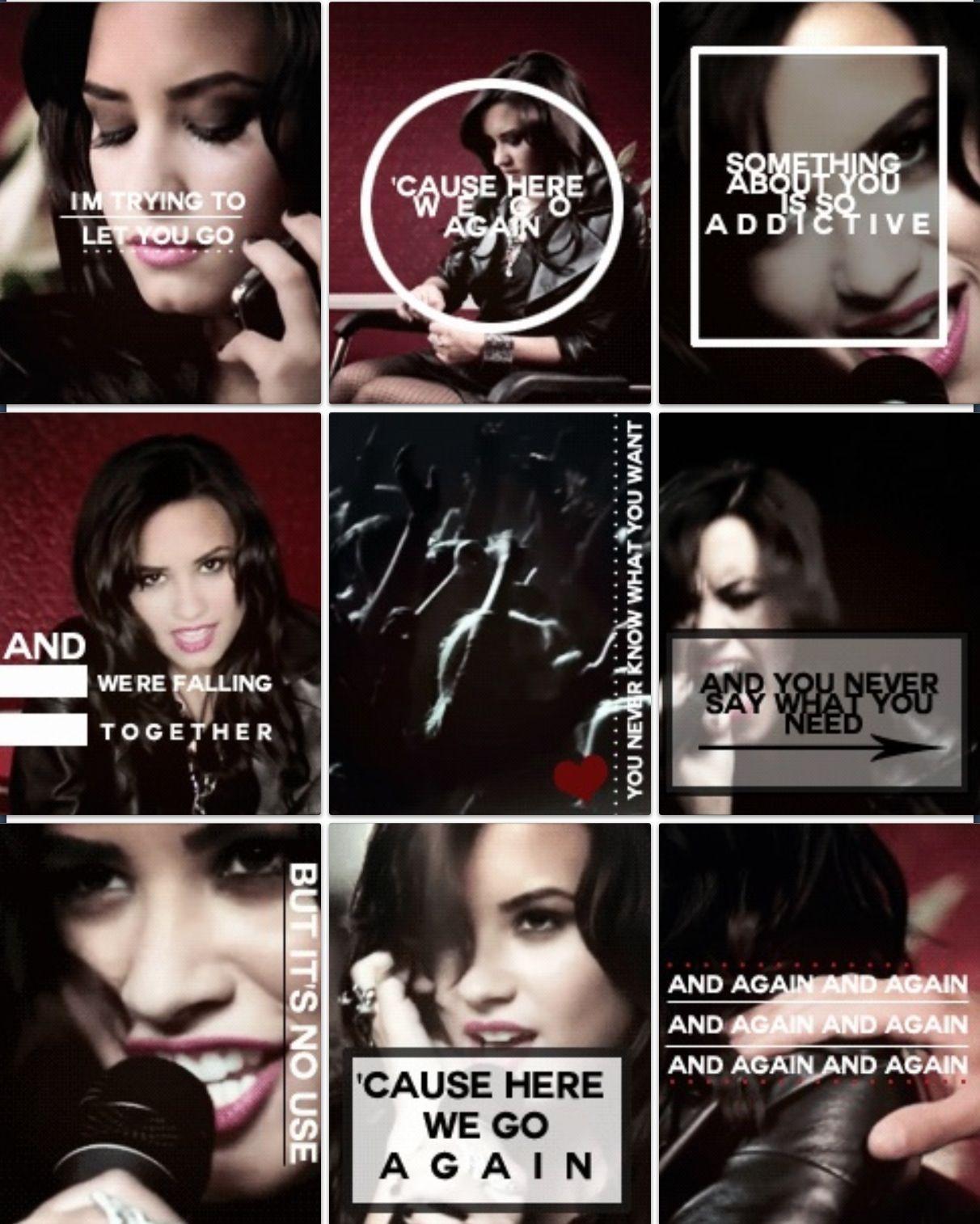 Demi Lovato - Here We Go Again lyrics