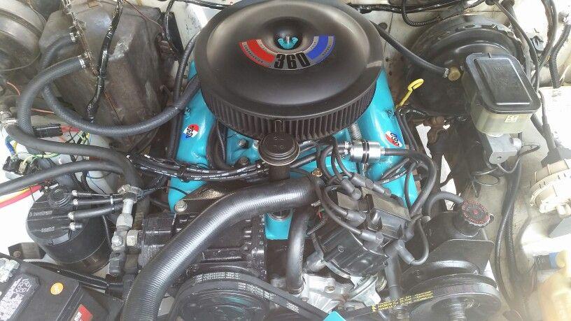 Grand Wagoneer AMC 360 Engine