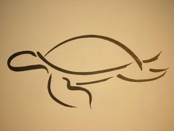 Turtle Line Drawing Tattoo : Turtle line art turtles pinterest tattoo and