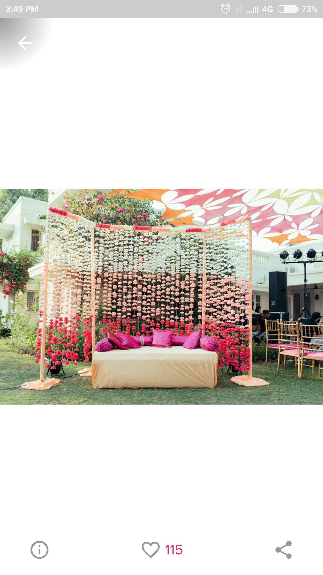 Pin By Aimi Nadzirah Yahya On Mehendi Wedding Backdrop Decorations Desi Wedding Decor Wedding Backdrop Design