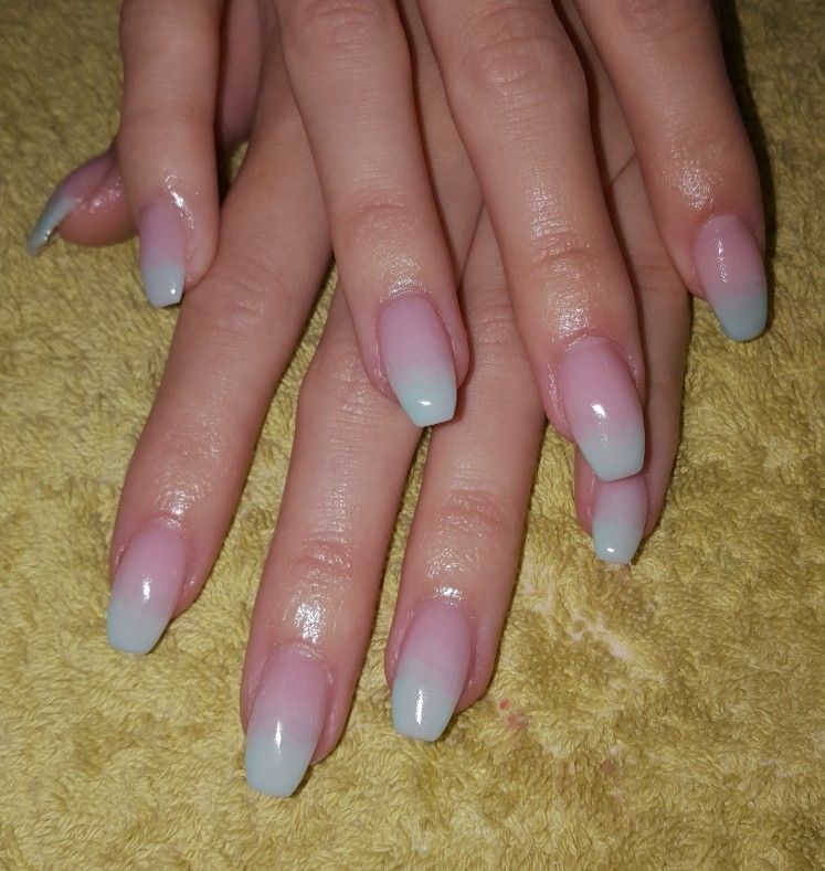Natural Nails with Gel overlay | Acrylics & Gels | Pinterest | Gel ...
