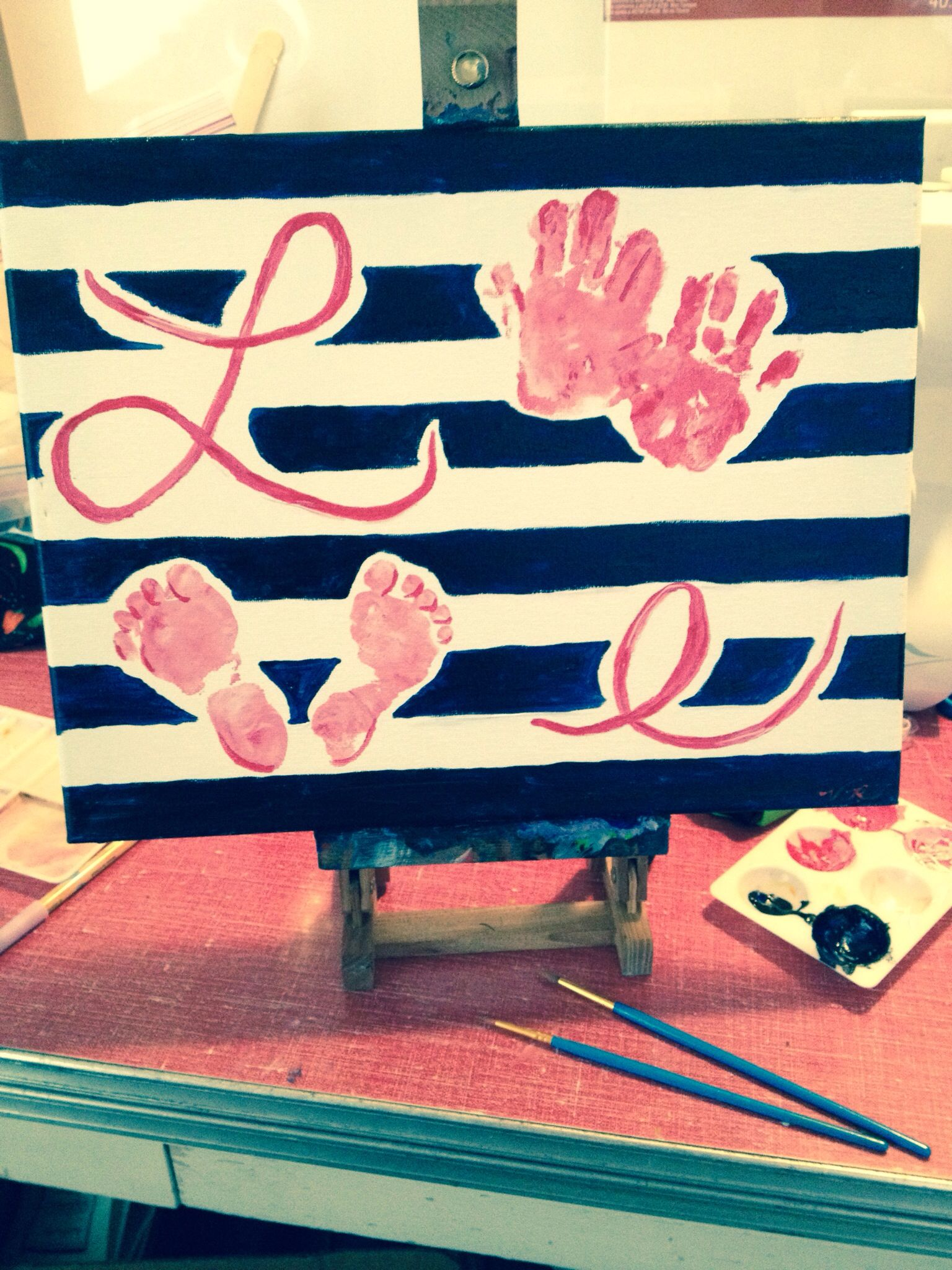 valentines day gift for daddy i dabbed paint on my daughters hands for the o - Valentines Gifts For Daughters