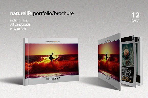 Naturelife Portfolio Brochure Brochures Brochure Template And