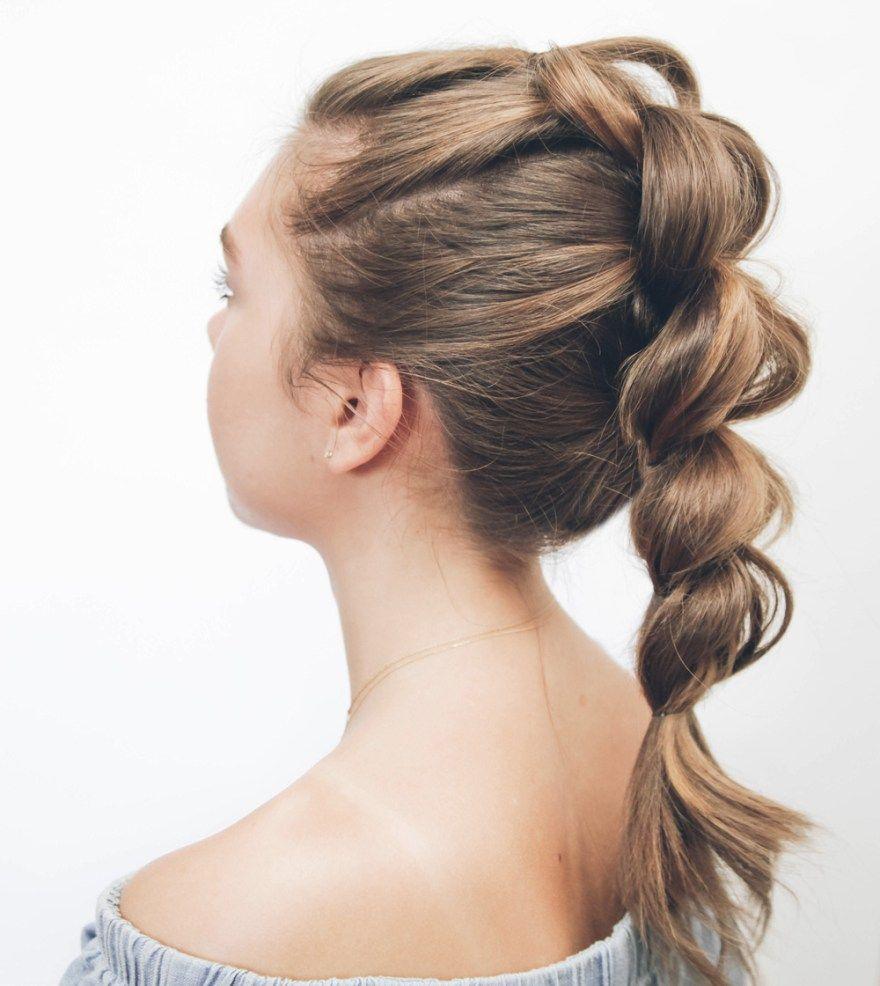 KASSINKA - Pull Through Braid Tutorial With Shorter Hair