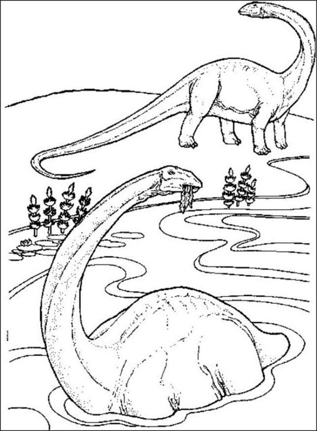 Printable Dinosaur Coloring Pages Dinosaur Printable Coloring