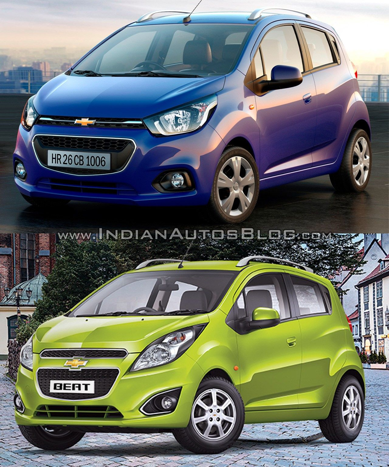 Next Gen Chevrolet Beat Vs Current Chevrolet Beat Old Vs New En