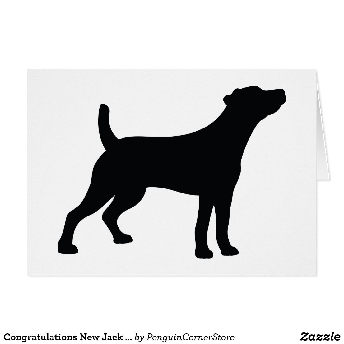 Congratulations New Jack Russell Terrier Card