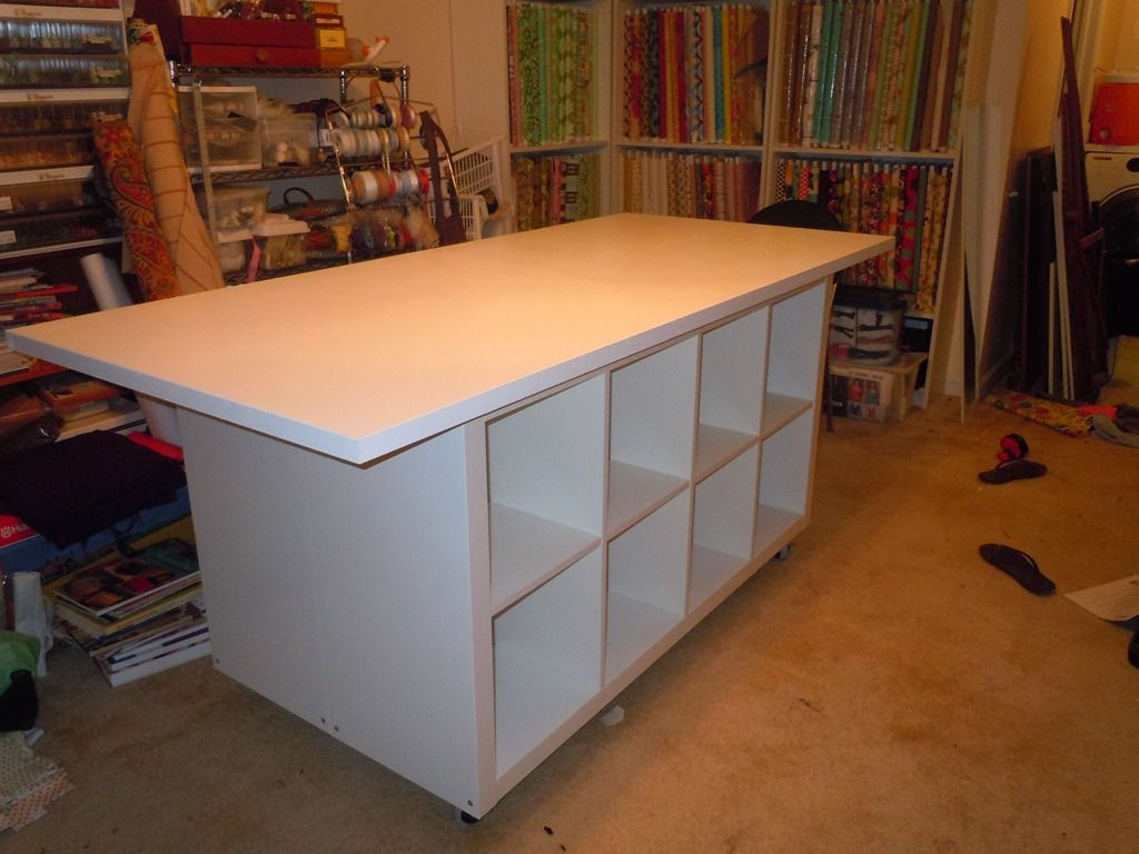 garage mobile workbench use 3/4' plywood instead on top and