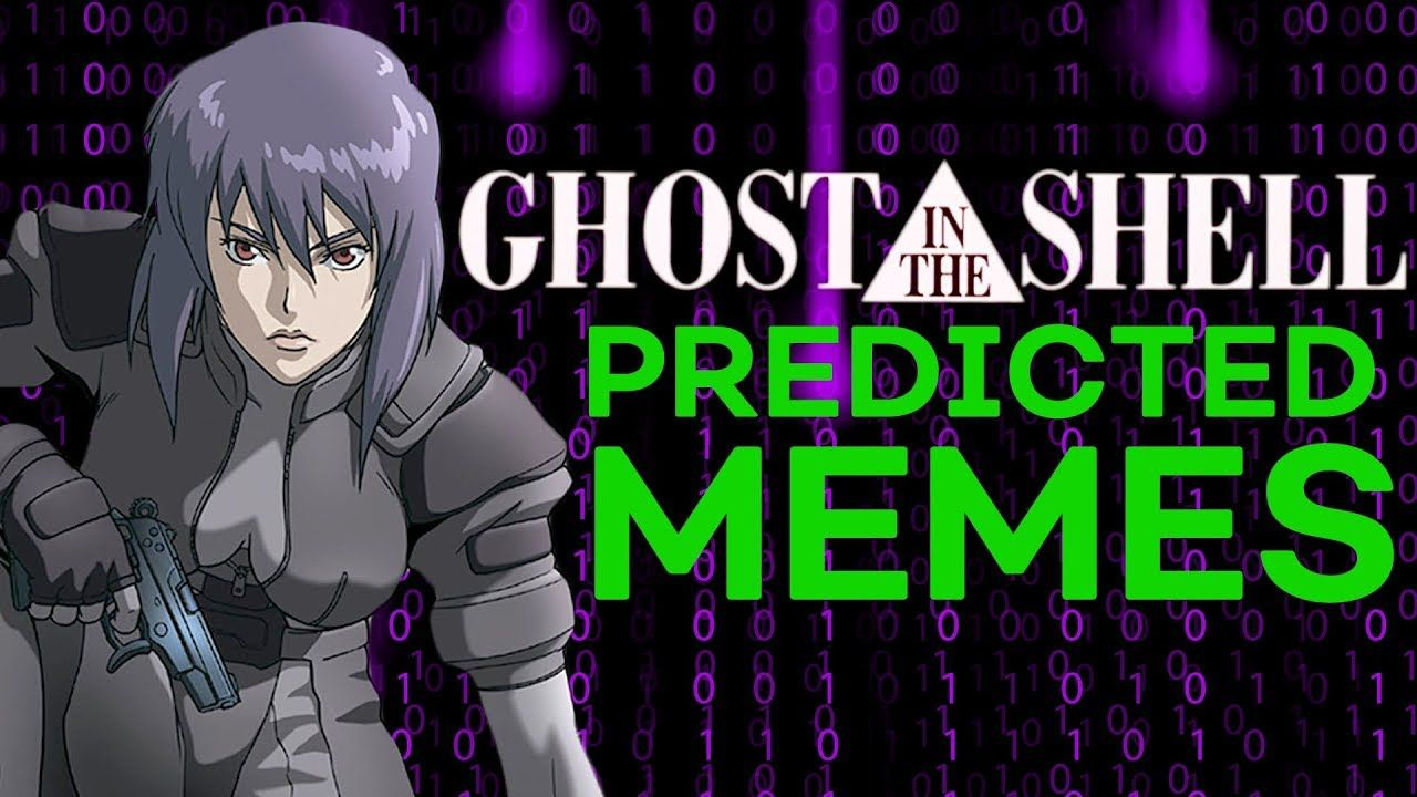 Did Ghost In The Shell Predict Meme Culture Youtube Ghost In The Shell Anime Memes