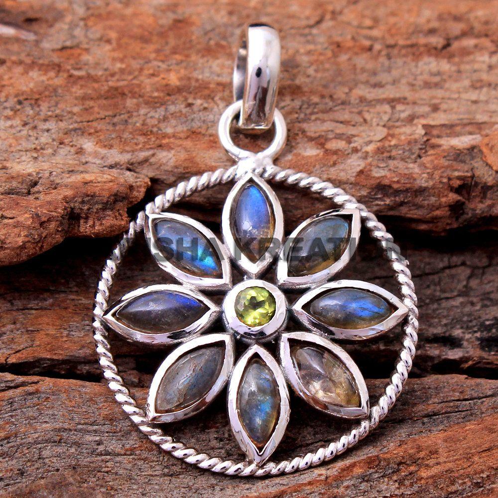 Labradorith Elegant 925 silver