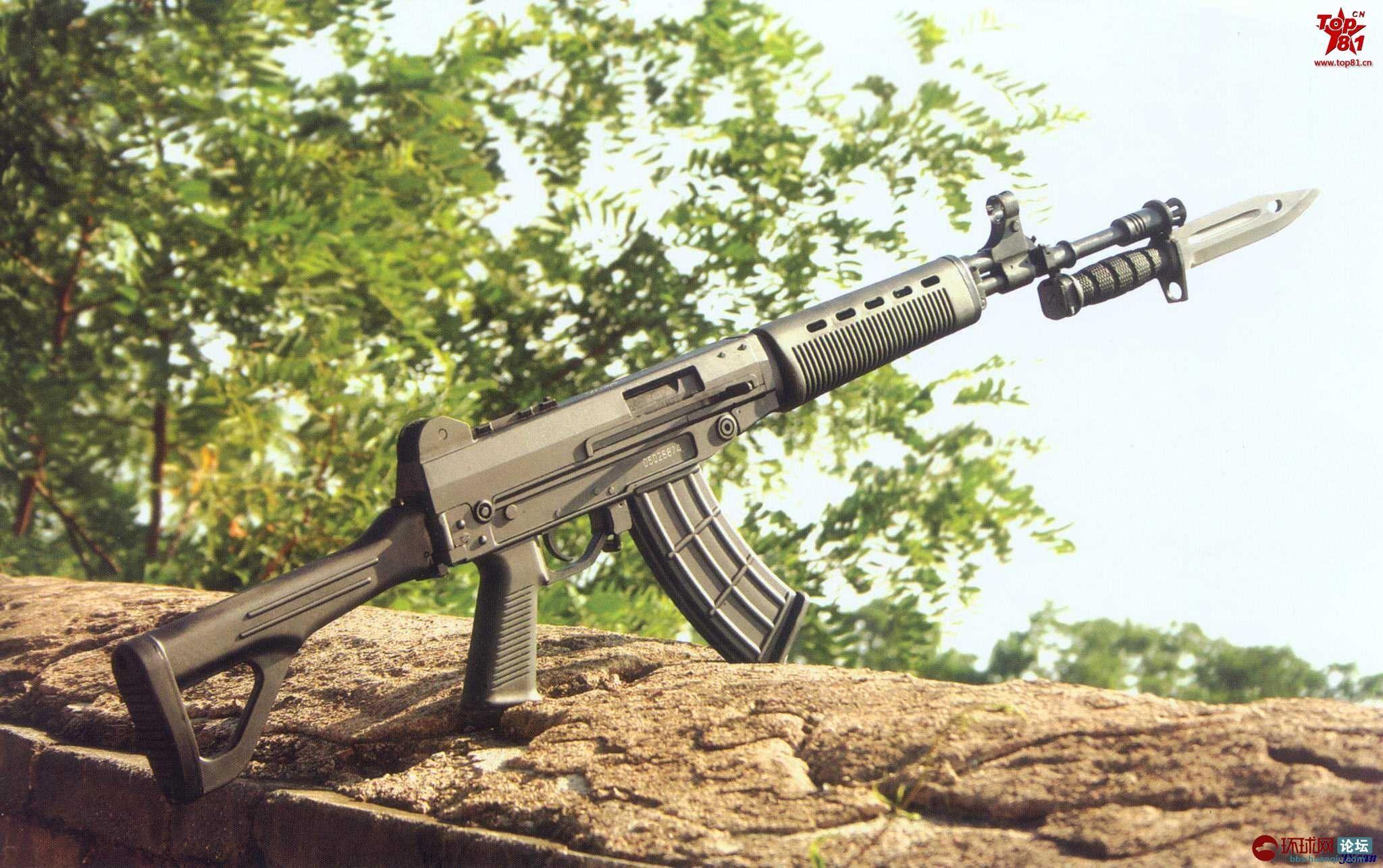 中国03式自动步枪与刺刀 / Chinese Type-03 assault rifle with