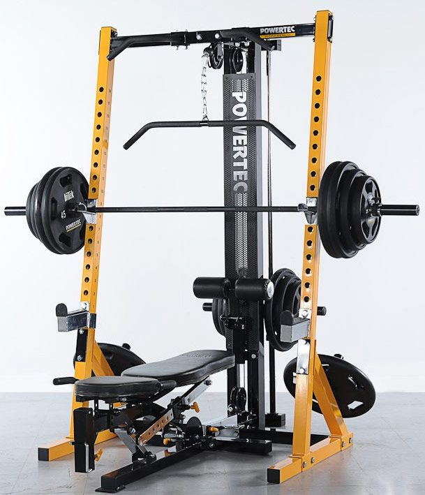 Powertec Half Rack My Dream Home Gym Pinterest Half