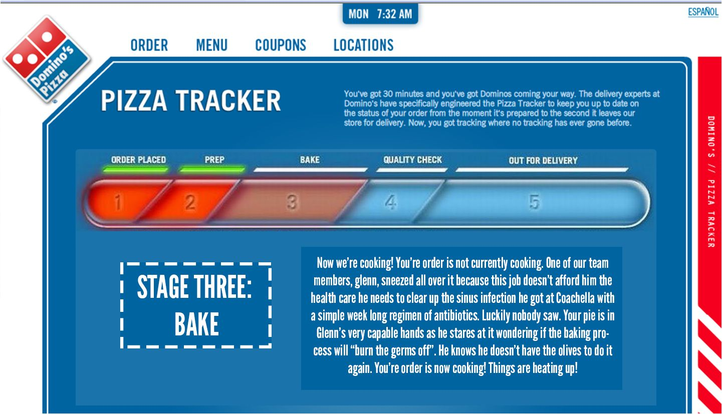 Image Result For Dominos Pizza Tracker Dashboards Pizza Dashboards