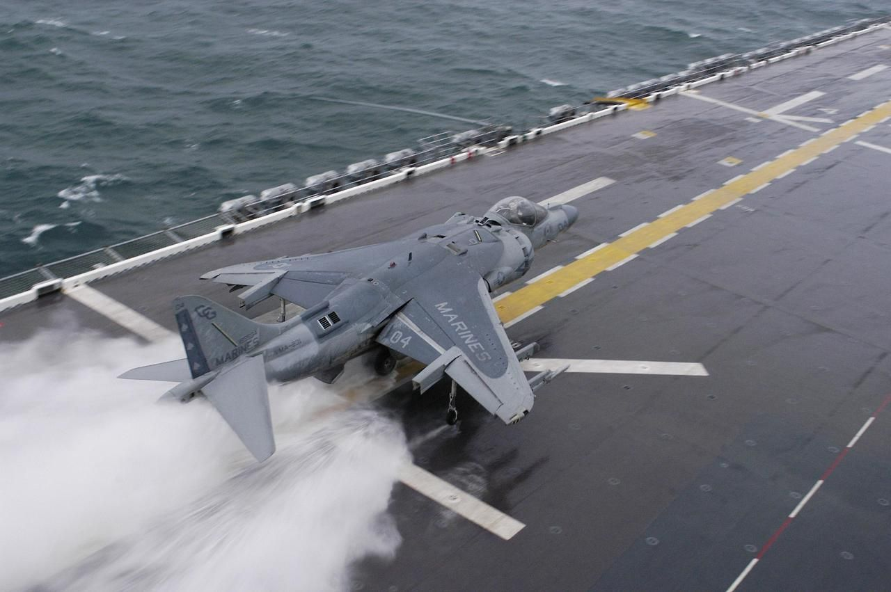 "ilovejetnoise ""Harrier Fighter "" Navy aircraft"