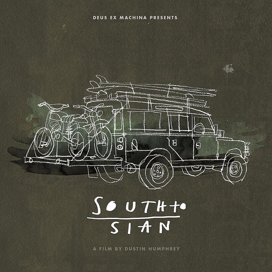 Deus ex Machina presents 'South to Sian'. Harrison Roach