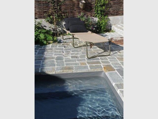 Une mini piscine en kit aux nuances minérales Gardens