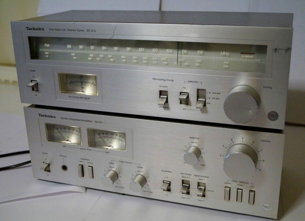 Vintage Technics SU-Z1 Stereo Integrated Amplifier + ST-Z1L