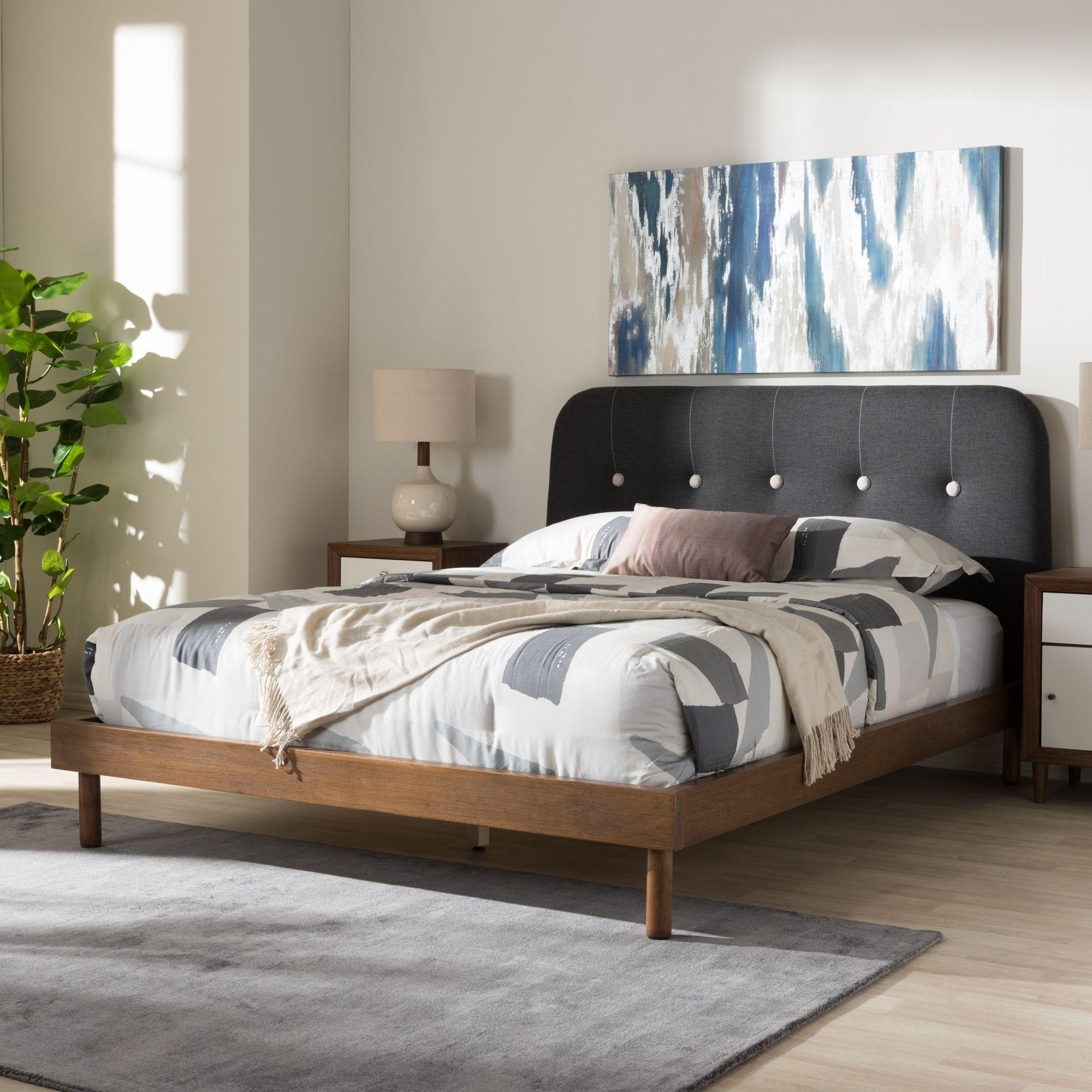 Best Carson Carrington Sodertalje Mid Century Grey Fabric 640 x 480