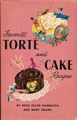 Vintage cakes and tortes