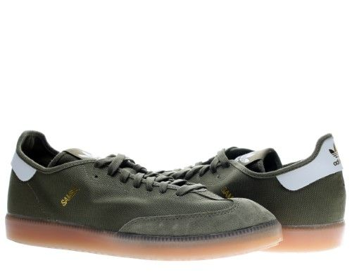 differently 8b1dc d7742 Adidas Originals Samba Modern Classic Mens Soccer Shoes Size 9.5, Size  9.5 D(M) US, Olive CargoRunning WhiteMetallic Gold  Modern classic and  Products