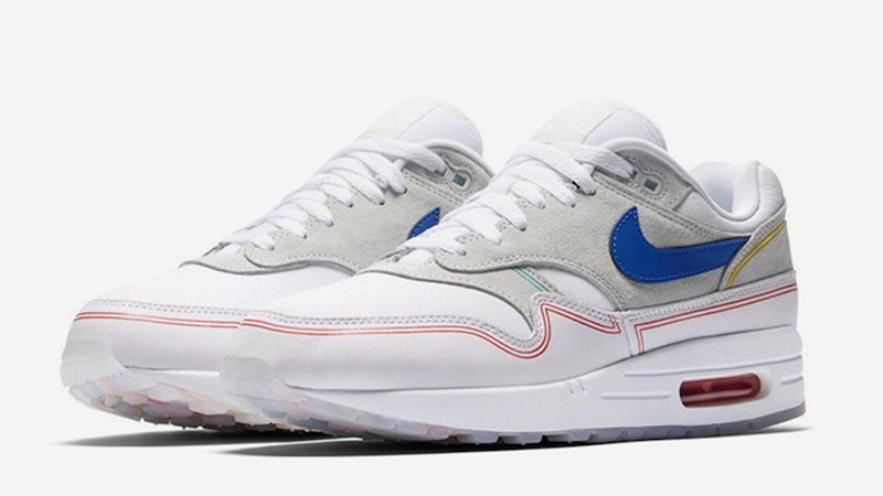 Nike Air Max 1 Centre Pompidou Pack White Multi AV3735-002 03 7a85ba6360