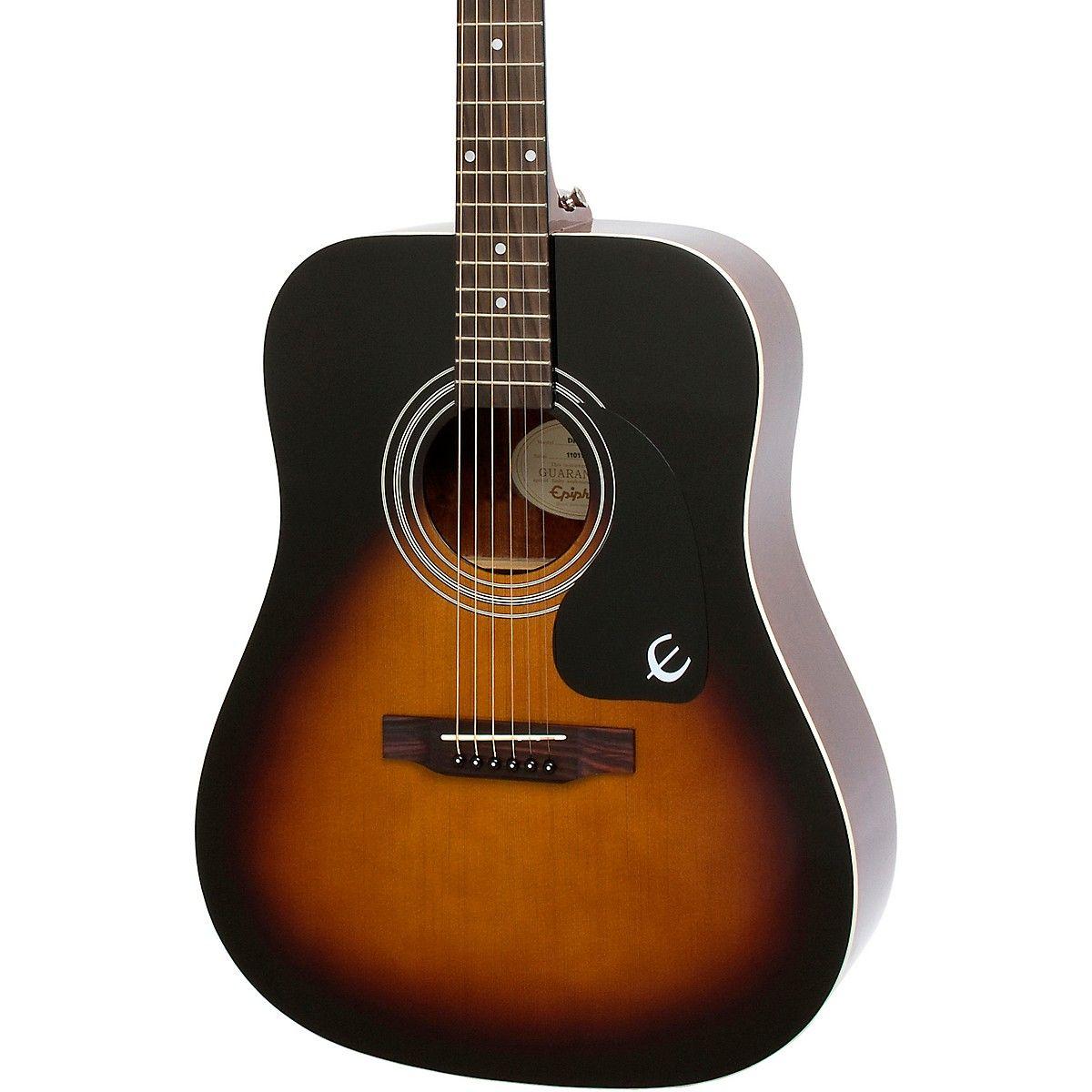 Epiphone Dr 100 Acoustic Guitar In 2020 Epiphone Guitar Acoustic Guitar